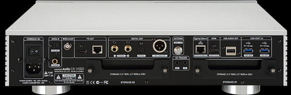 Cocktail Audio X50D Roon Ready TIDAL Streamer/CD/DAC/FM Tuner (Silver)
