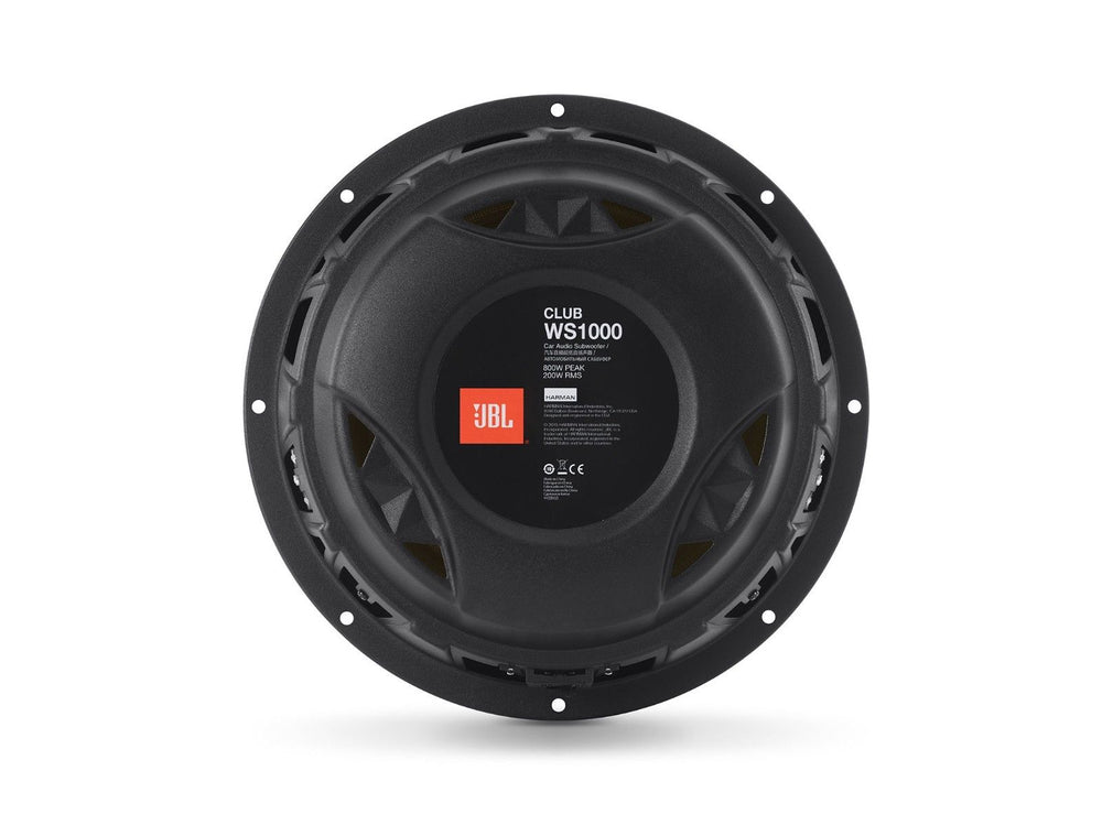 "JBL Club WS1000 800W 10"" Club Series Subwoofer"