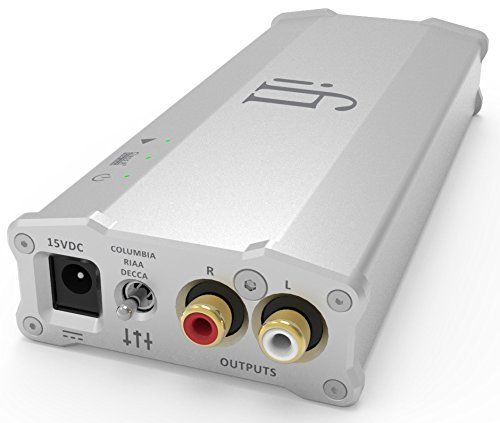 iFi Audio Micro iPhono2 Phonostage Preamp Compatible with MM and MC Cartridges