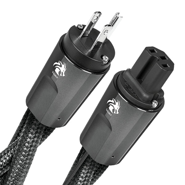 AudioQuest NRG Dragon High-Current 15-Amp AC Power Cable - 2 Meter