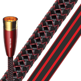 AUDIOQUEST RED RIVER 7 METER XLR CABLE PAIR