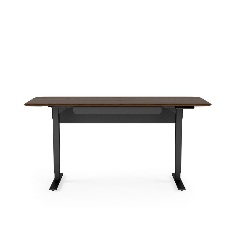 BDI Sola Lift Desk 6853 (Toasted Walnut/Black)