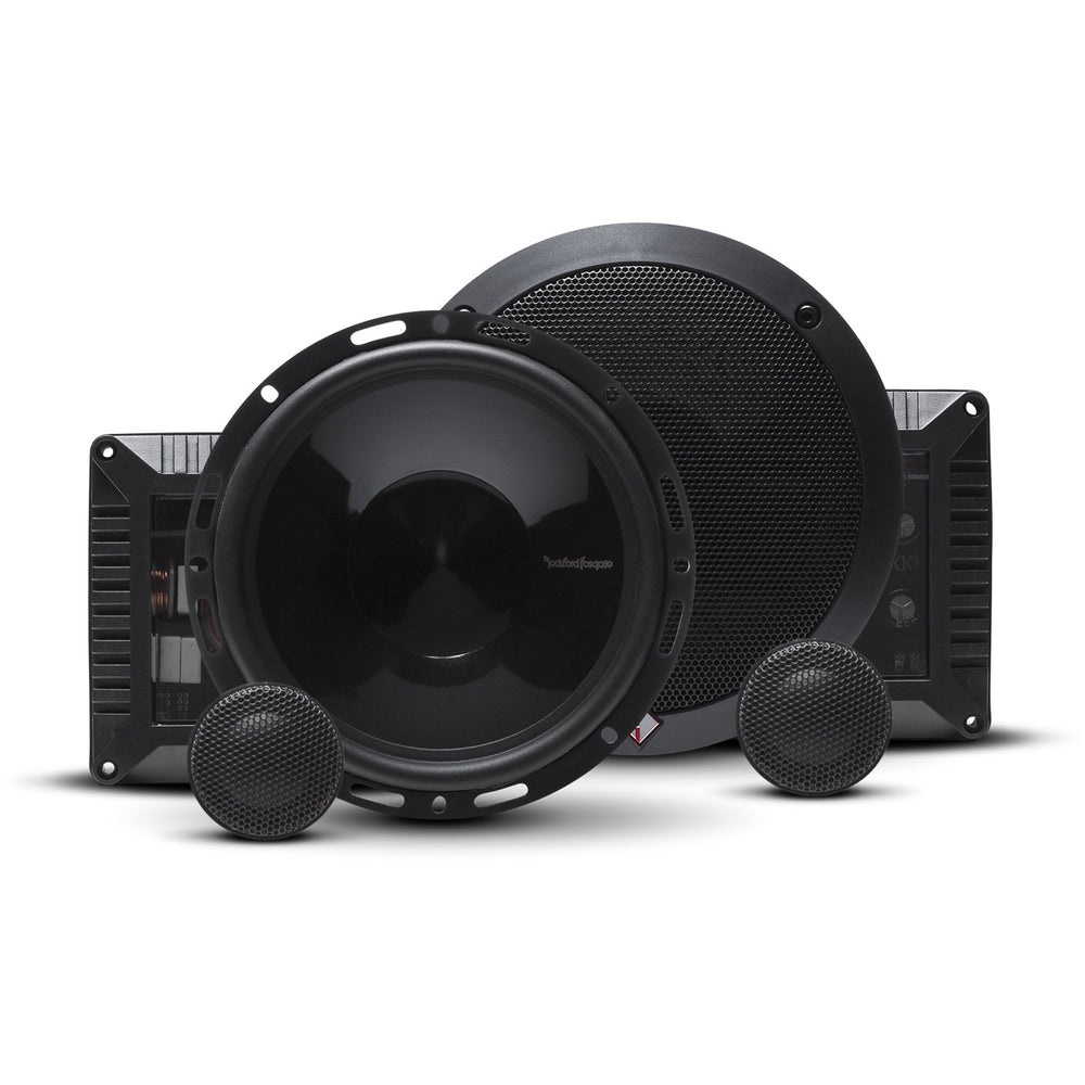 "Rockford Fosgate T1650-S Power 5.50"" 2-Way Euro Fit Compatible Component System"