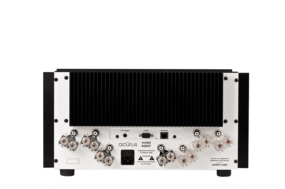 Acurus A2007 7-Channel 200W Audio Amplifier (Black)