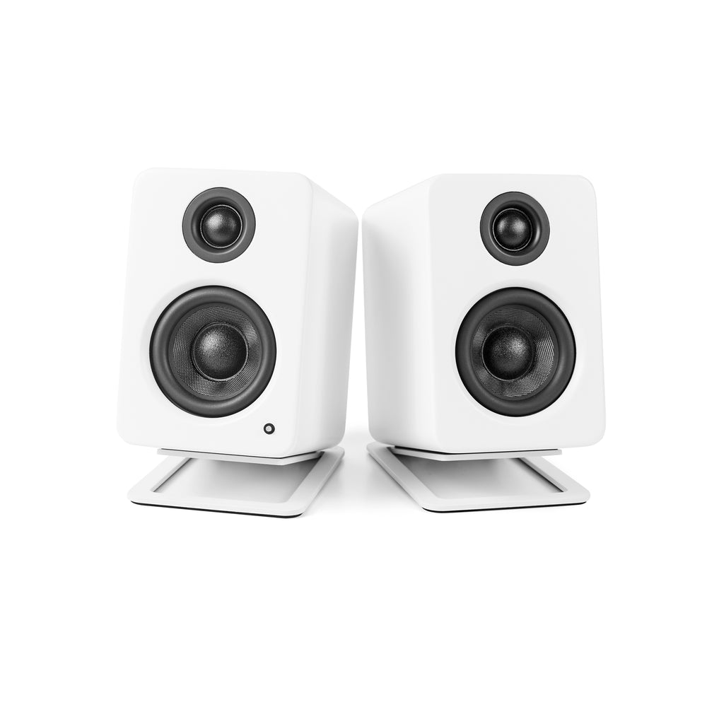 Kanto S2 Desktop Speaker Stands for Small Speakers - Pair (White) (Open Box)