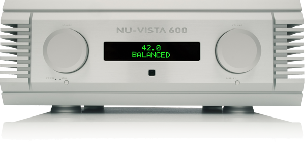 Musical Fidelity Nu-Vista 600 Integrated Amplifier (Silver)