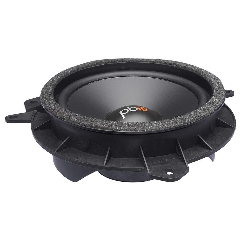 "PowerBass OE65C-TY 6.5"" Component OEM Toyota Replacement Speaker"