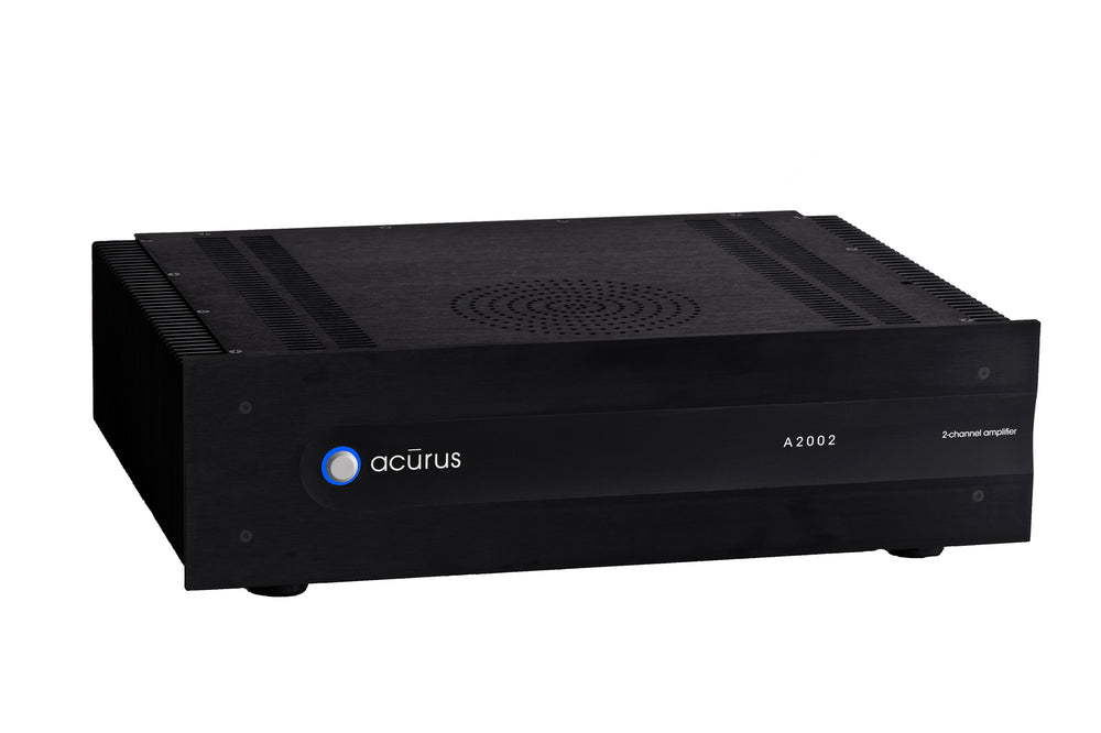 Acurus A2002 2-Channel, 200W Audio Amplifier (Black)