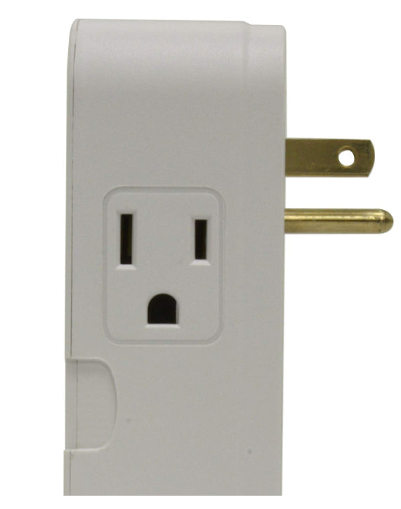 Panamax MD2-C 2 Outlet Direct Plug-In and Coax - White