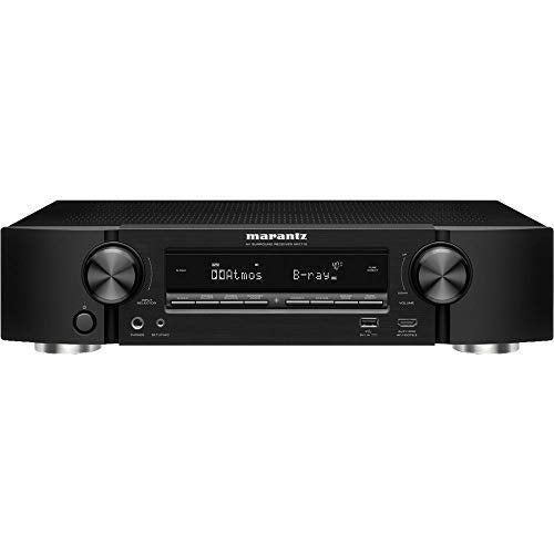 Marantz NR1710 Slim 7.2 Channels 4K Ultra Hd AV Receiver with Heos Built-in and Alexa Voice Control - Black