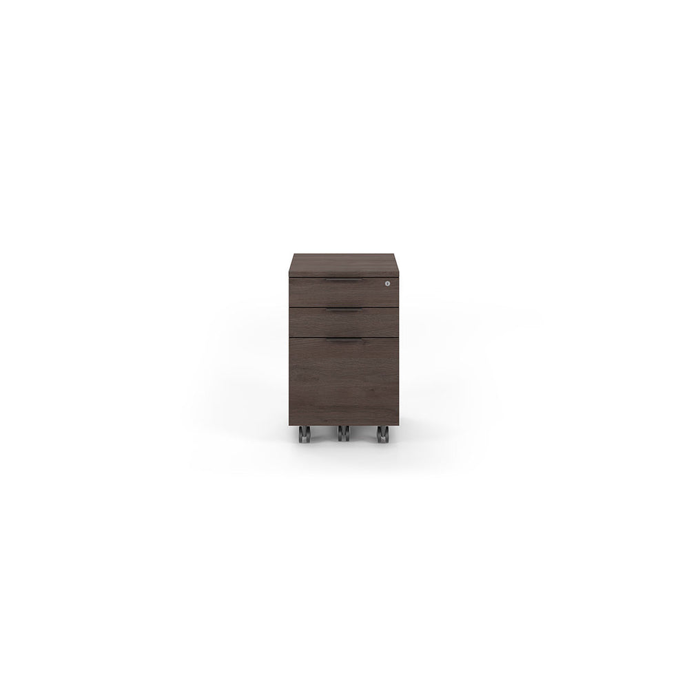 BDI Sigma 6907 Low Mobile File Cabinet (Sepia)