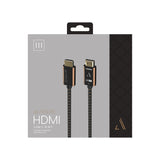 Austere III Series 4K Active HDMI Cable 5.0m \\ 4K HDR, High Fidelity ARC, Pure Gold Contacts, aDesign Precision Connector Housing & WovenArmor Cable