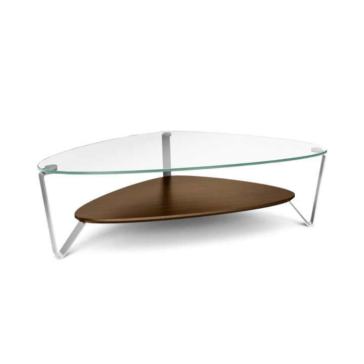 BDI Dino 1343 Large Coffee Table (Chocolate Stained Walnut)