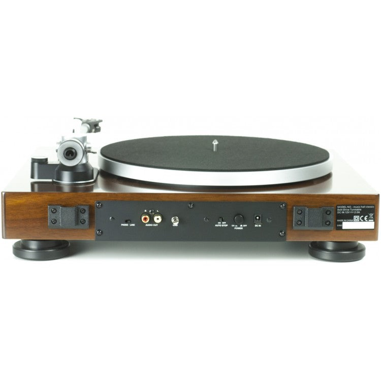 Music Hall Classic Turntable with Cartridge and Built-In Phono Preamp