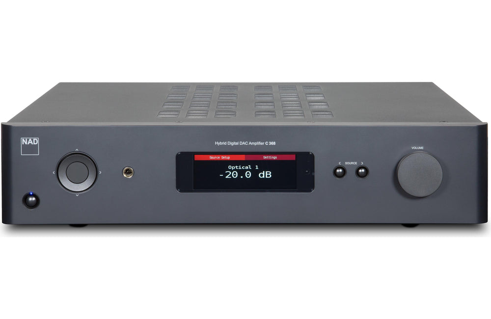 NAD C 368 BLUOS INTEGRATED AMPLIFIER