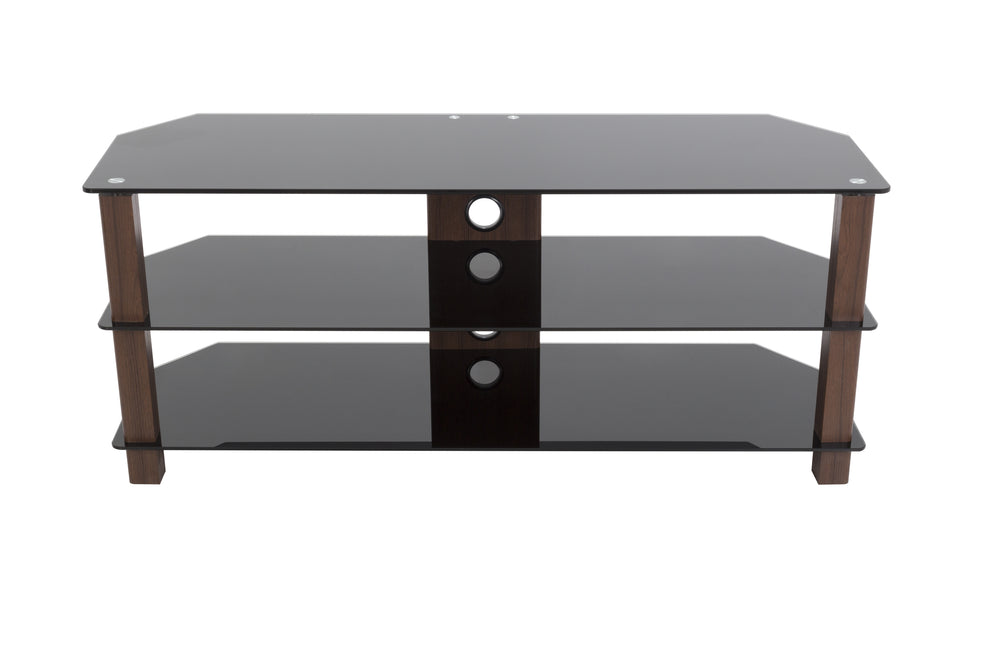 AVF FS1250VALWB3-A Reflections Valletta Corner TV Stand for up to 60 In. TV's (Walnut)