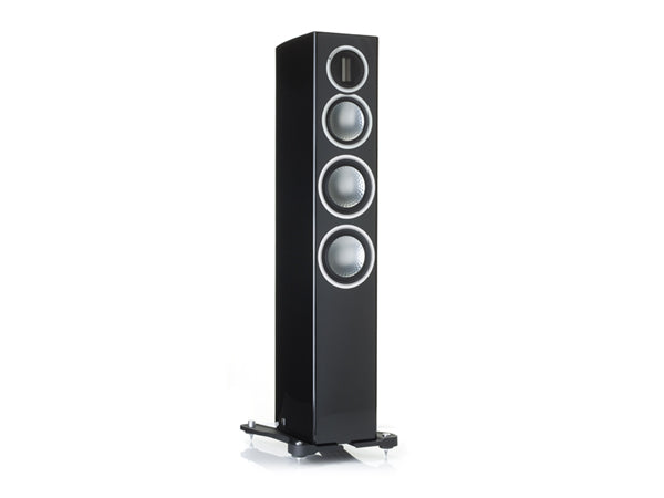 Monitor Audio Gold 200 Tower Speakers - Pair (Piano Black)