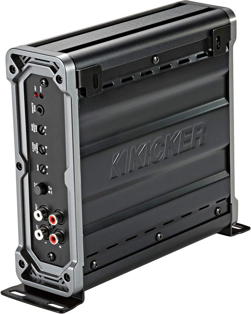 KICKER 46CXA8001t CS Series 1600 Watts Peak Power Class D Mono Subwoofer Amplifier