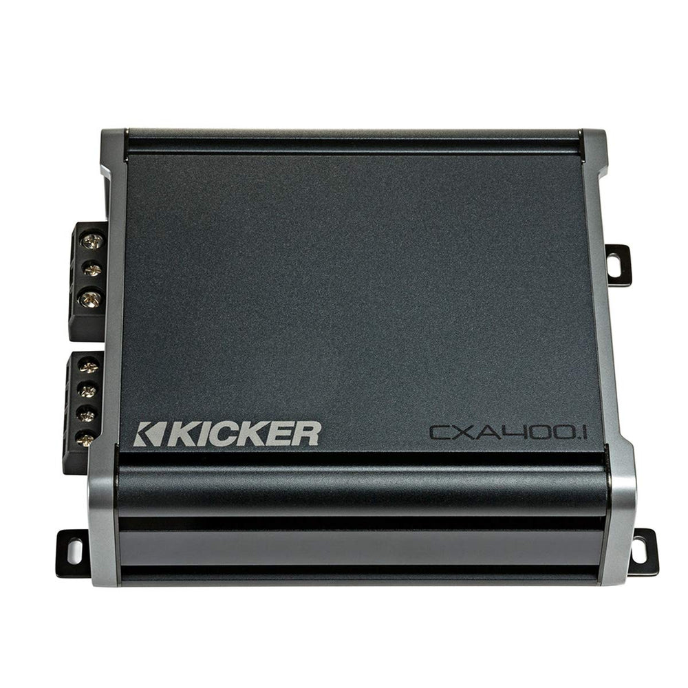 Kicker 46CXA4001t CX Series 800 Watts Peak Power Class D Mono Subwoofer Amplifier