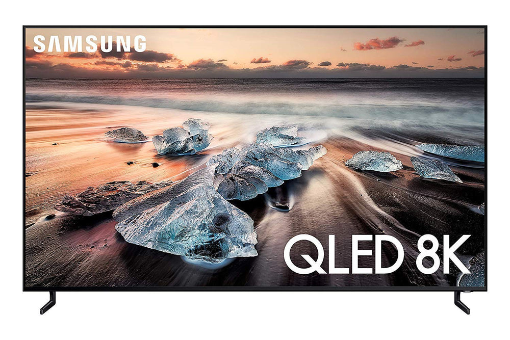 Samsung QN55Q900RBFXZA Flat 55-Inch QLED 8K Q900 Series Ultra HD Smart TV with HDR and Alexa Compatibility (2019 Model), Black