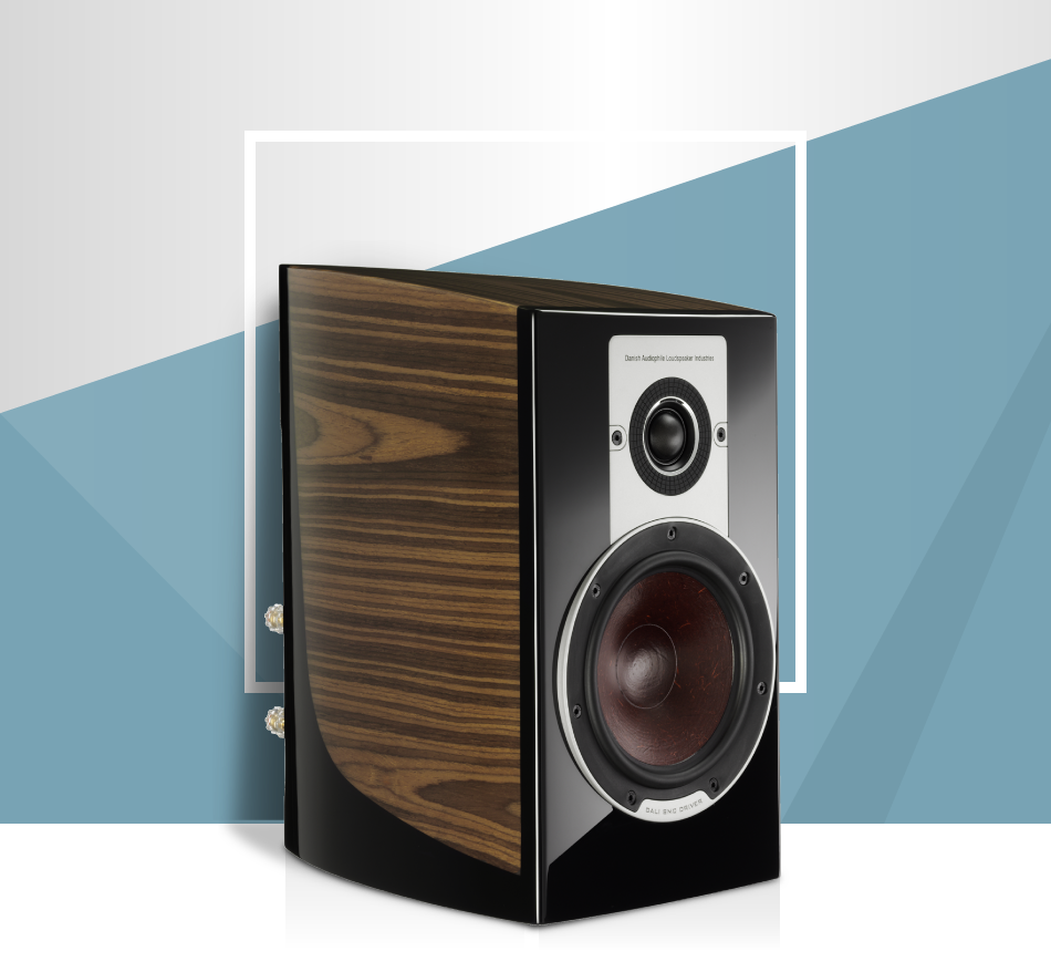 DALI EPICON 2 WALNUT BOOKSHELF SPEAKER PAIR WITH STANDS