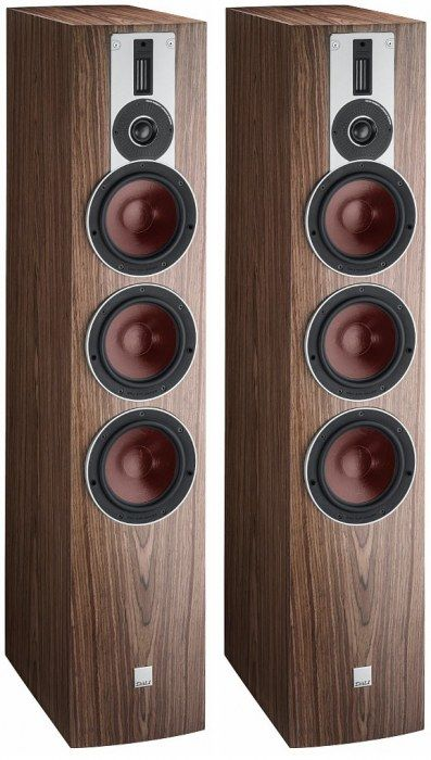 DALI RUBICON 8 FLOORSTANDING SPEAKER PAIR WALNUT