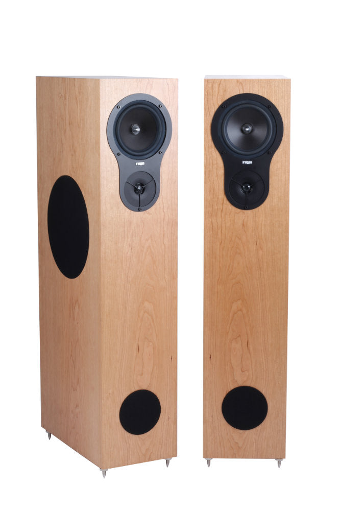 REGA RX5 WALNUT FLOORSTANDING SPEAKER PAIR