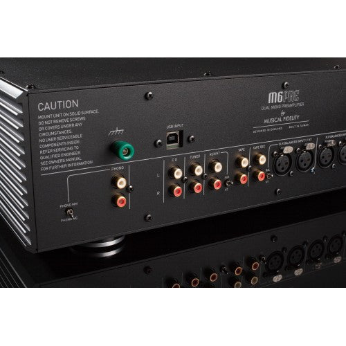 MUSICAL FIDELITY M6s PRE - Preamp WITH MM/MC - BLACK