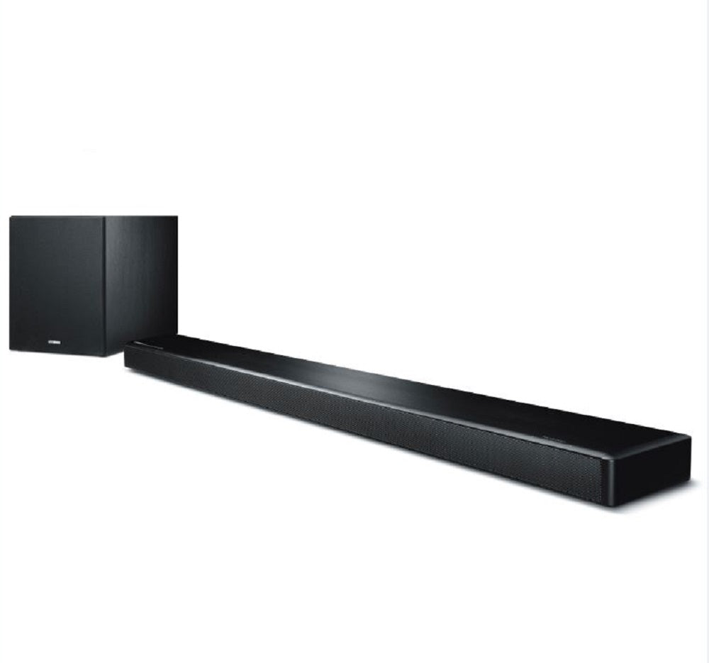 Yamaha MusicCast YSP-2700 Sound Bar with Wireless Subwoofer, Works with Alexa