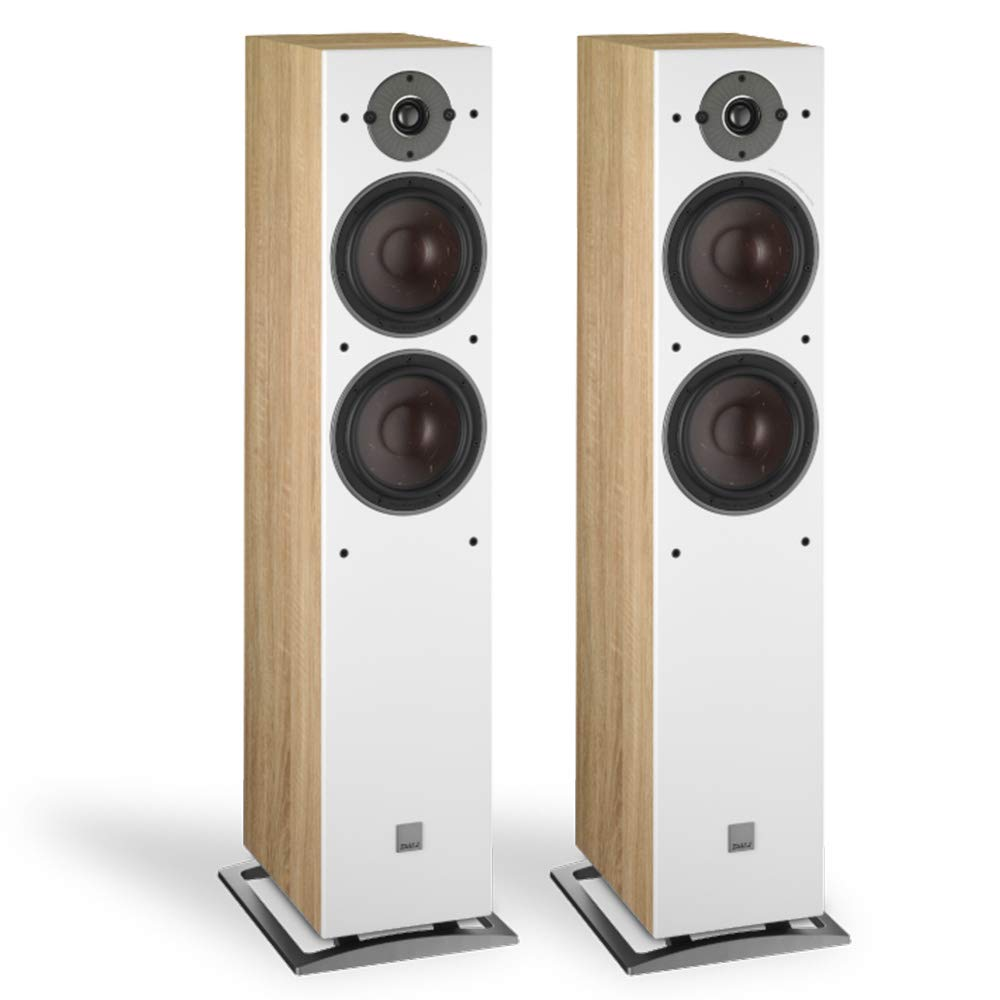 Dali Oberon 7 Floorstanding Speaker - Light Oak (Pair)