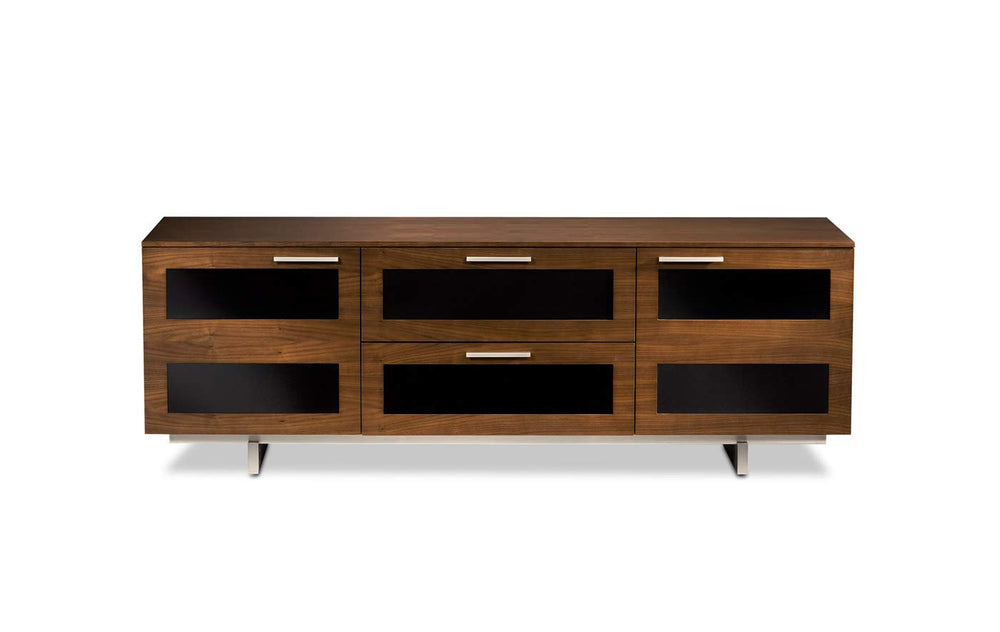 BDI Avion 8927 Triple Wide Entertainment Cabinet, Natural Stained Cherry