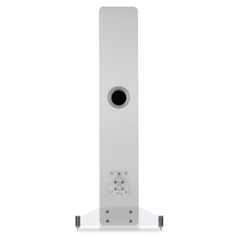 Q Acoustics Q Concept 40 Gloss white Pair Floorstanding Speakers