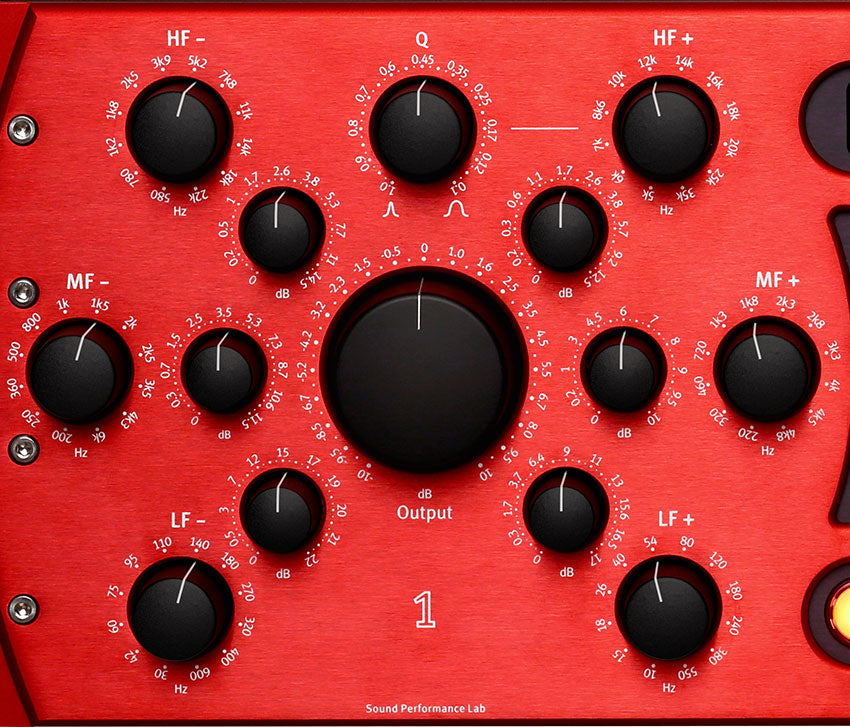 SPL Passeq Mastering Equalizer - Red