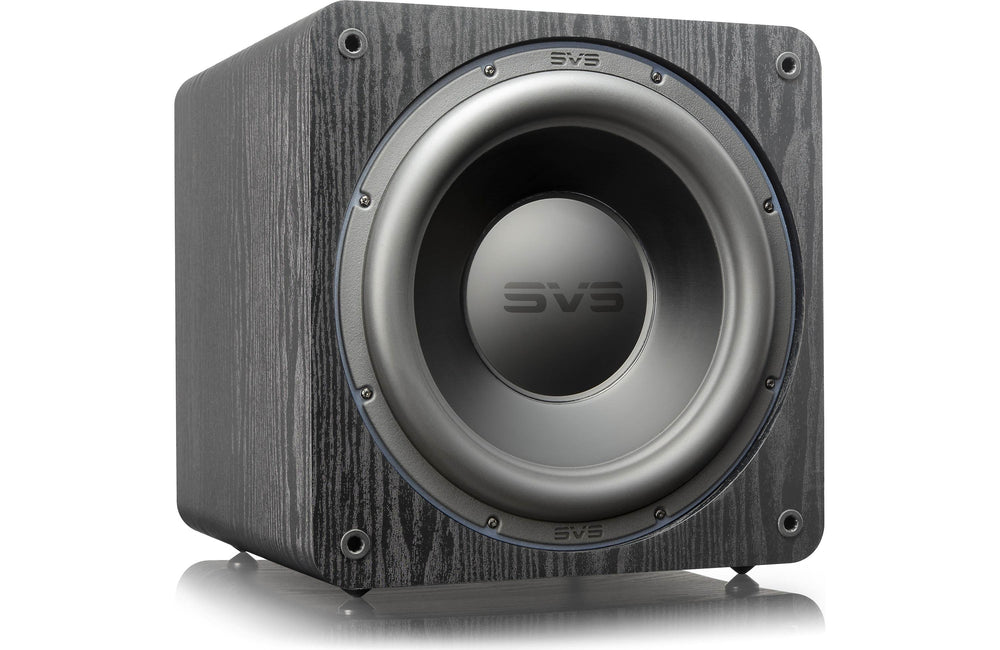 SVS SB-3000 Subwoofer (Black Ash) Cabinet and App Control