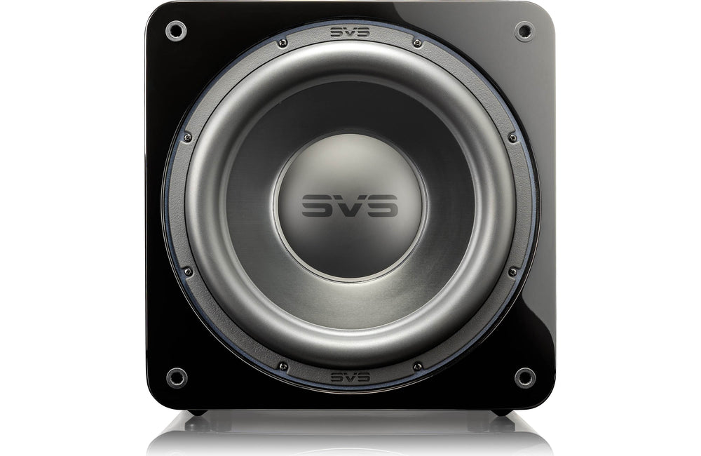 SVS SB-3000 Subwoofer (Piano Gloss Black) Cabinet and App Control