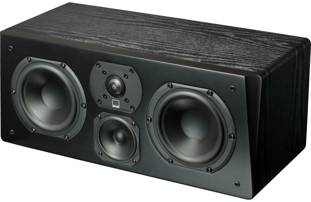 SVS Prime Center Channel Speaker - Black Ash Finish