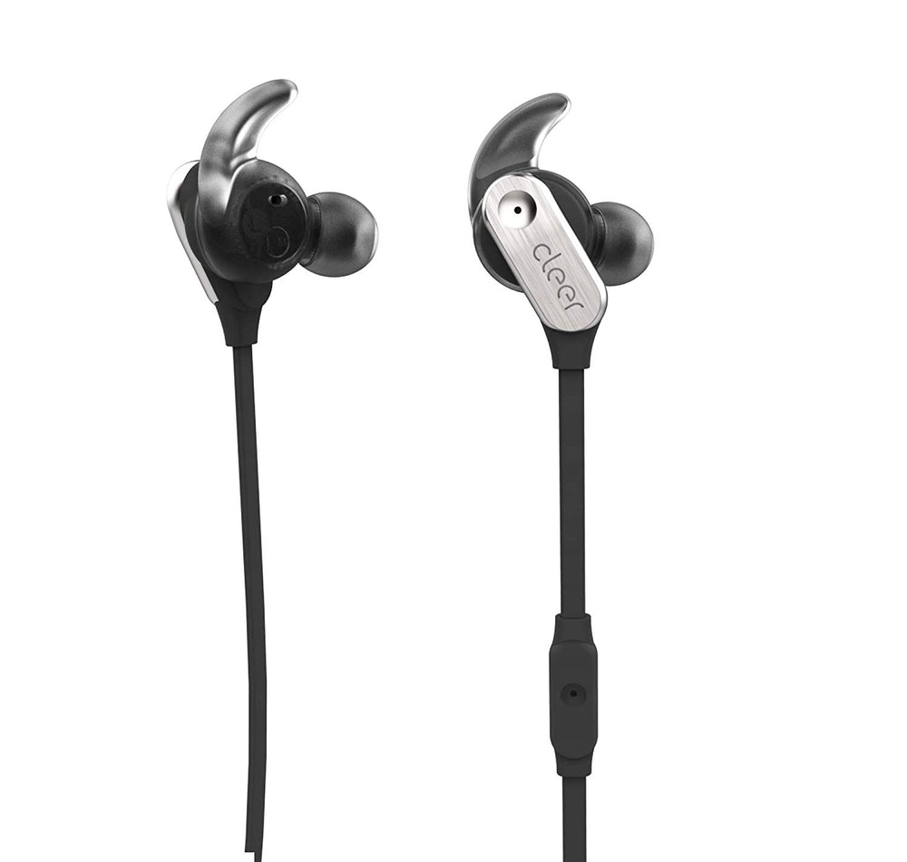 Cleer Trek Active Noise Cancelling in-Ear Headphones (Gray)