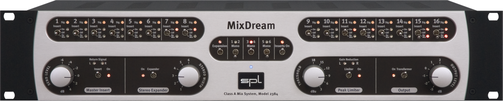 SPL MixDream Analog Summing Unit with 16 Inserts