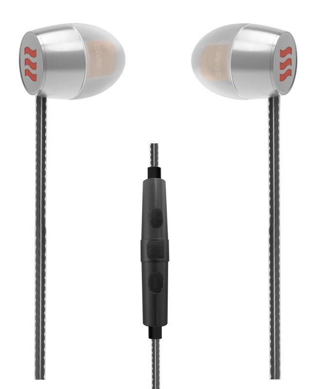 Echobox Traveler T1i Titanium In-ear Headphones - iPhone Edition (Black)