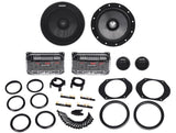 "Kicker 41QSS654 QS Series 6.5"" Component System with 1-3/16"" (30mm) Tweeters, 4-Ohm, 180W"