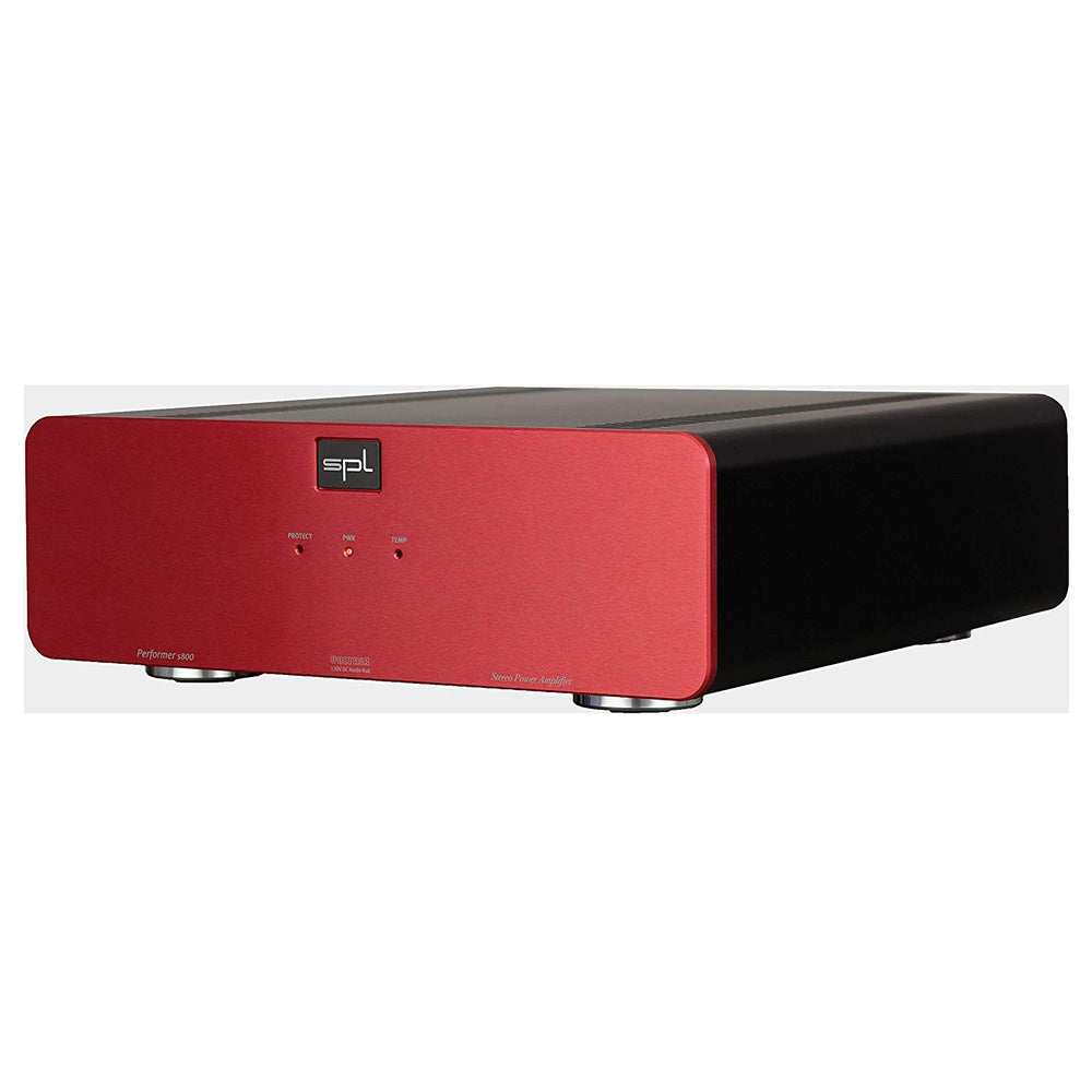 SPL Performer S800 Stereo Power Amplifier (Red)