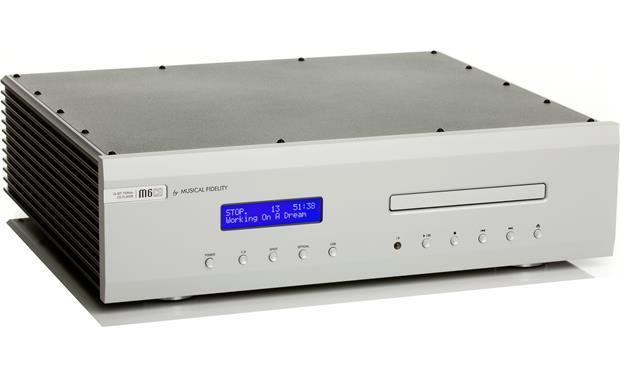 Musical Fidelity M6SCD High Performance CD/DAC 5 Input + USB (Silver)