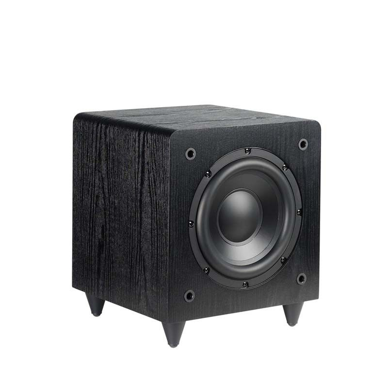 "Sunfire SDS8  8"" Black Ash -inch 200-watt Powered Subwoofer"