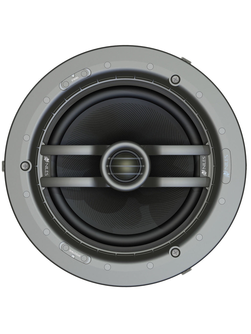 Niles CM8MP (Ea) 8-Inch Two-way In-Ceiling Loudspeaker with Pivoting Tweeter (FG01661)