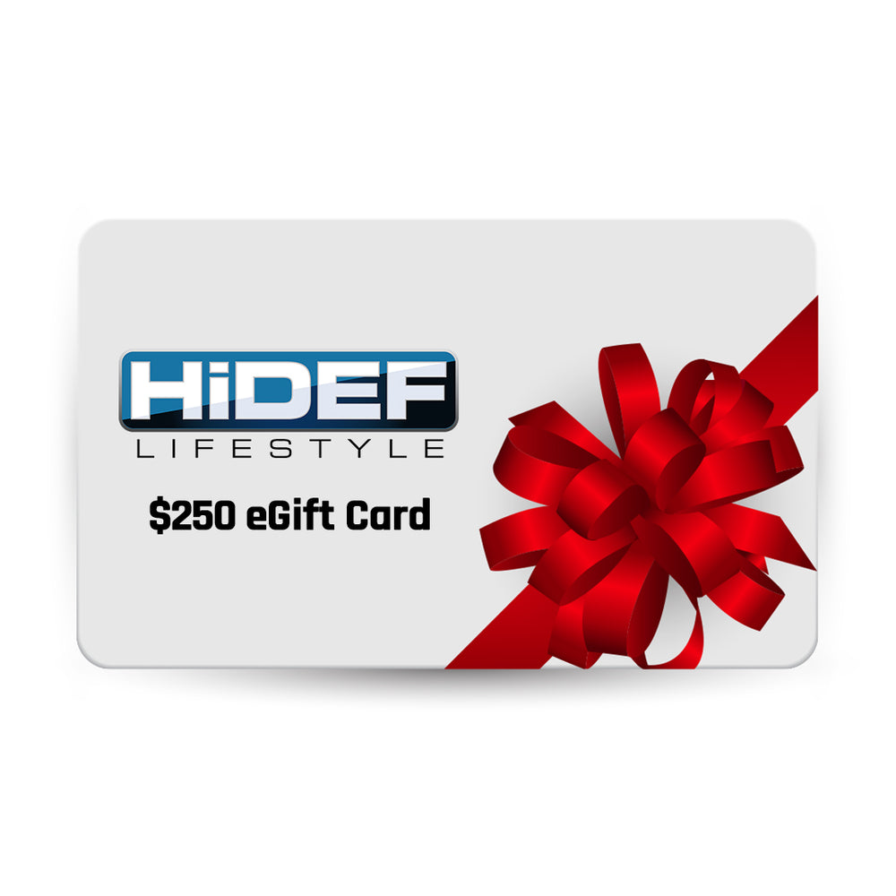 $250 HiDEF Lifestyle eGift Card