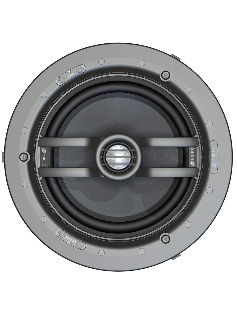 "Niles CM8HD (Ea) 8"" 2-way In-Ceiling Loudspeaker with Pivoting Tweeter (FG01663)"