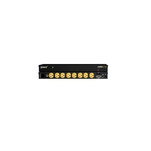 SurgeX SX-AX20E Axess Elite Surge Protector, EMI/RFI Noise Filter IP Enabled Power Managerment - 120 Volt, 20 Amp