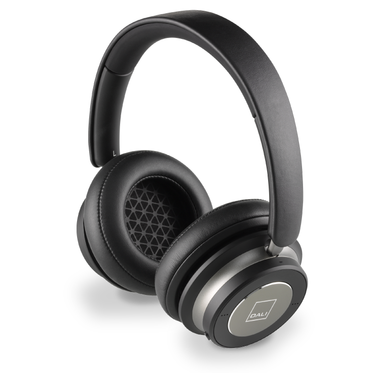 Dali IO-6 Wireless Active Noise Cancellation Over Ear Headphone (Iron Black)