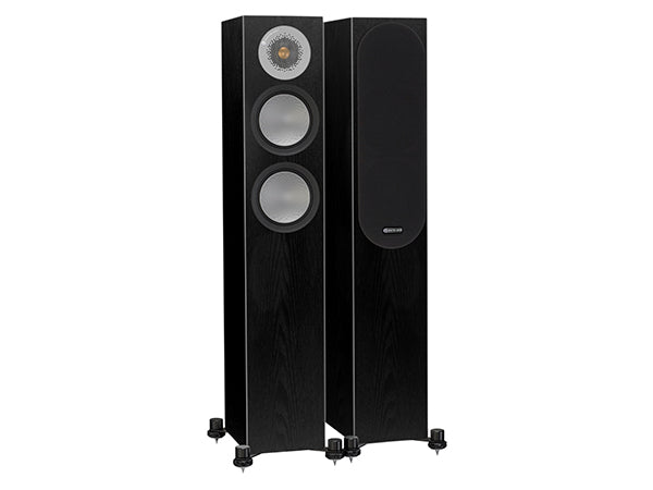 Monitor Audio Silver Series 200 Floorstanding Speaker Black Oak (Pair)Open Box