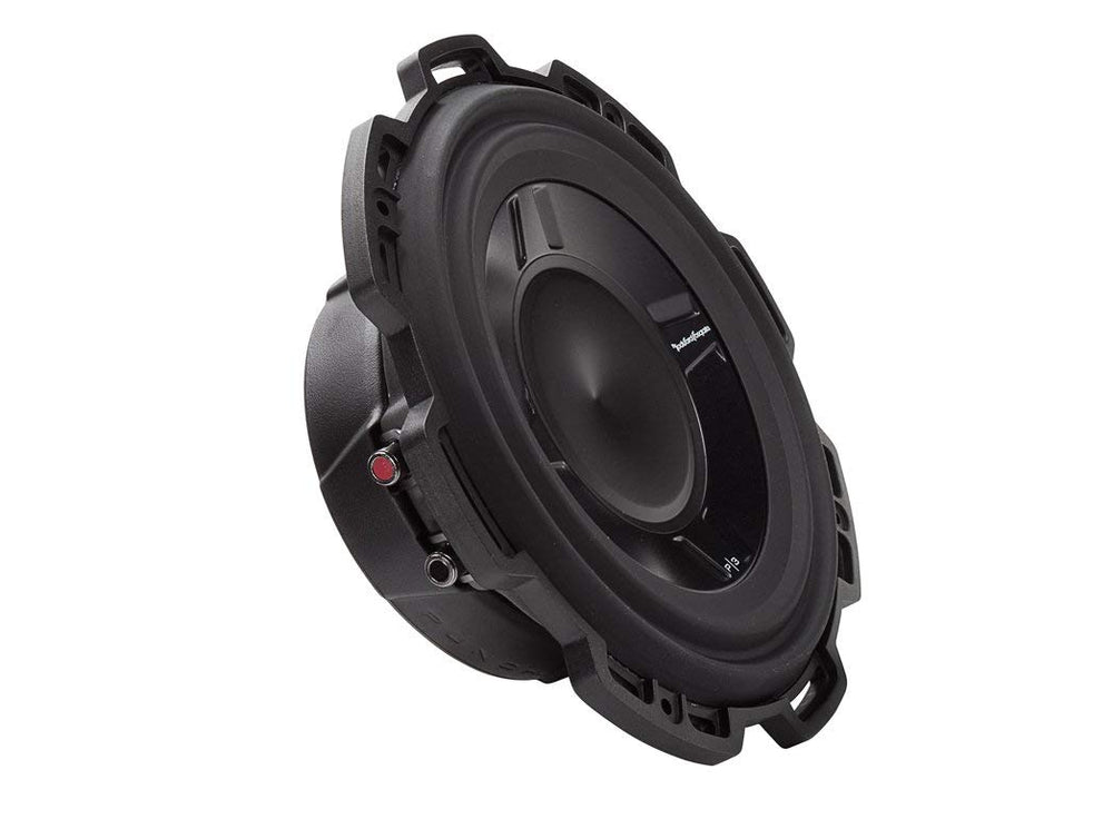 "Rockford Fosgate P3SD4-10 Punch 10"" P3S Shallow 2-Ohm DVC Subwoofer"